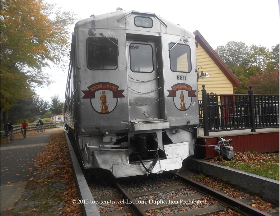 Old Boston and Maine Railroad passenger car