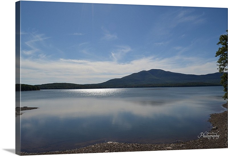 Ashokan Reservoir in Upstate New York