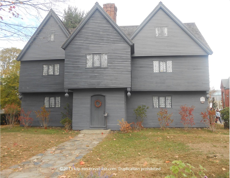 Witch's House in Salem, Massachusetts
