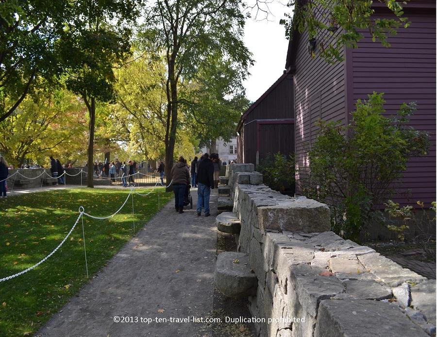 Witch Memorial in Salem, Massachusetts