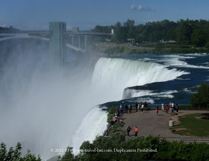 Niagara Falls - American and Bridal Veil Falls