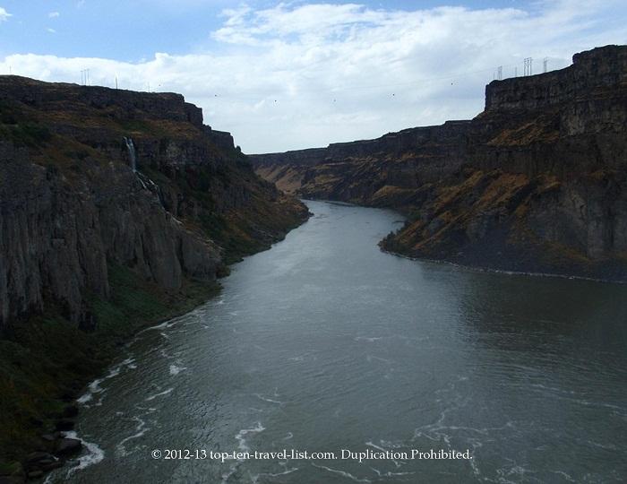 Snake River Shoshone Falls