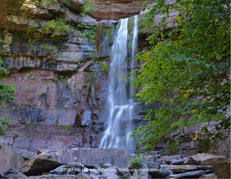 Kaaterskill Falls in Upstate New York