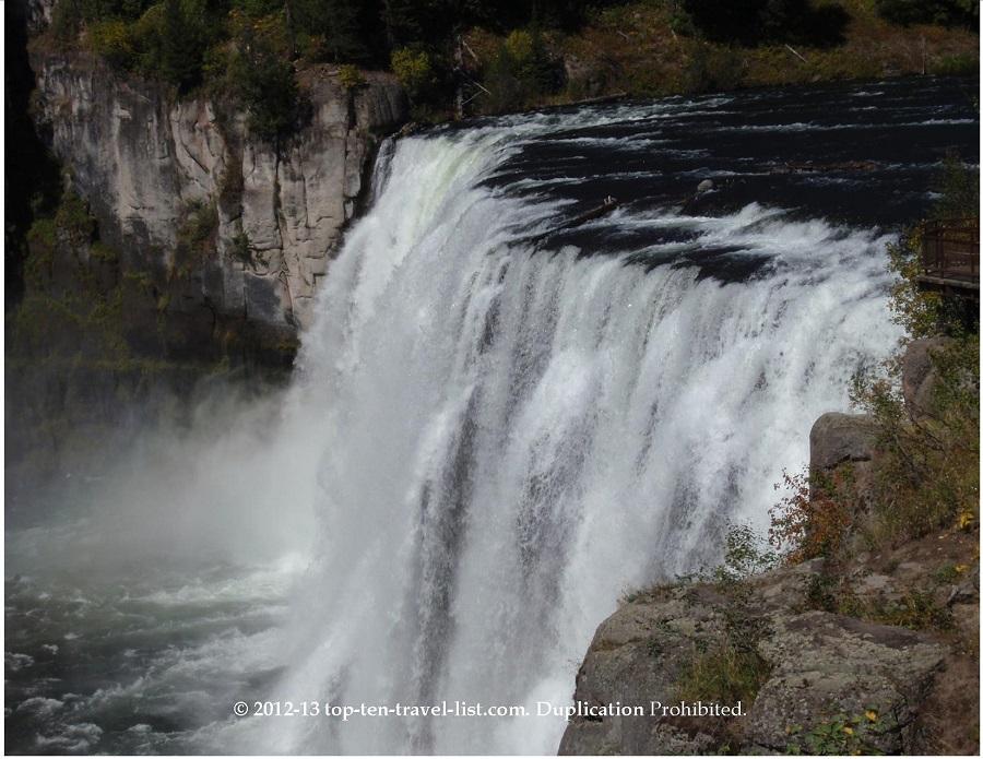 Mesa Falls - Upper Falls, Idaho