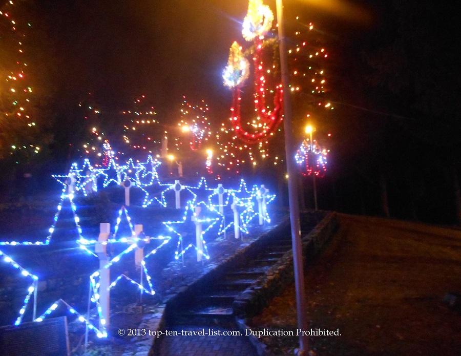 Beautiful light display at La Salette's Festival of Lights event
