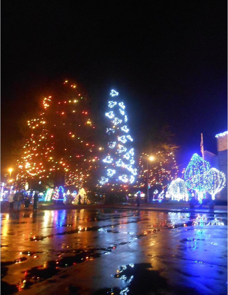 Festival of Lights at La Salette in Attleboro, MA