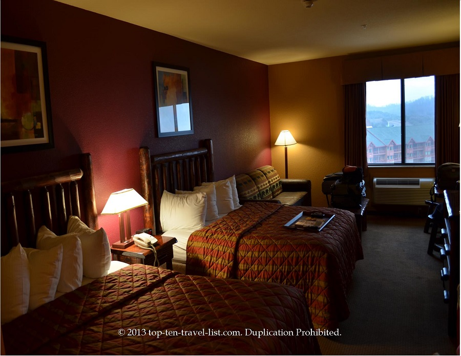 Stone Lodge room at Wilderness at the Smokies - Seiverville, TN