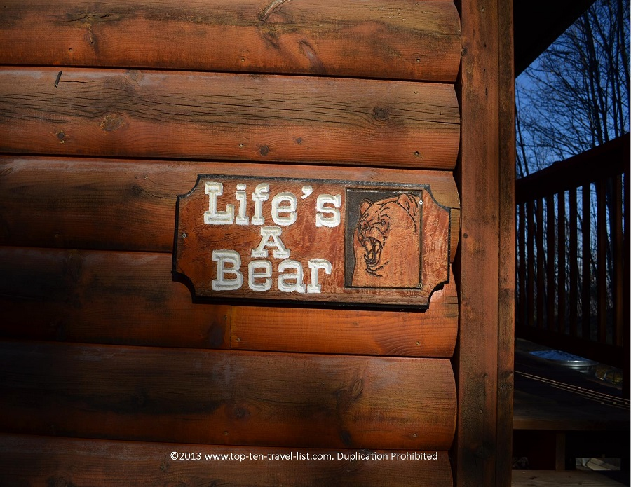 Life's a Bear cabin rental in Gatlinburg TN - Timber Tops