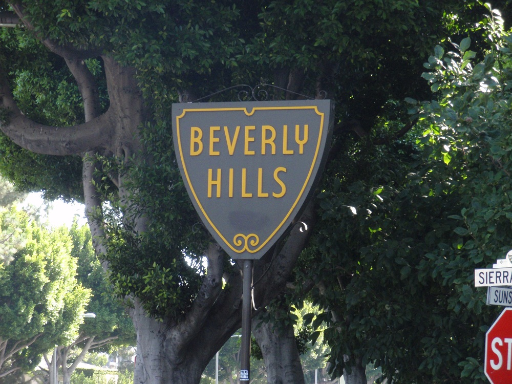 Classic Beverly Hills sign