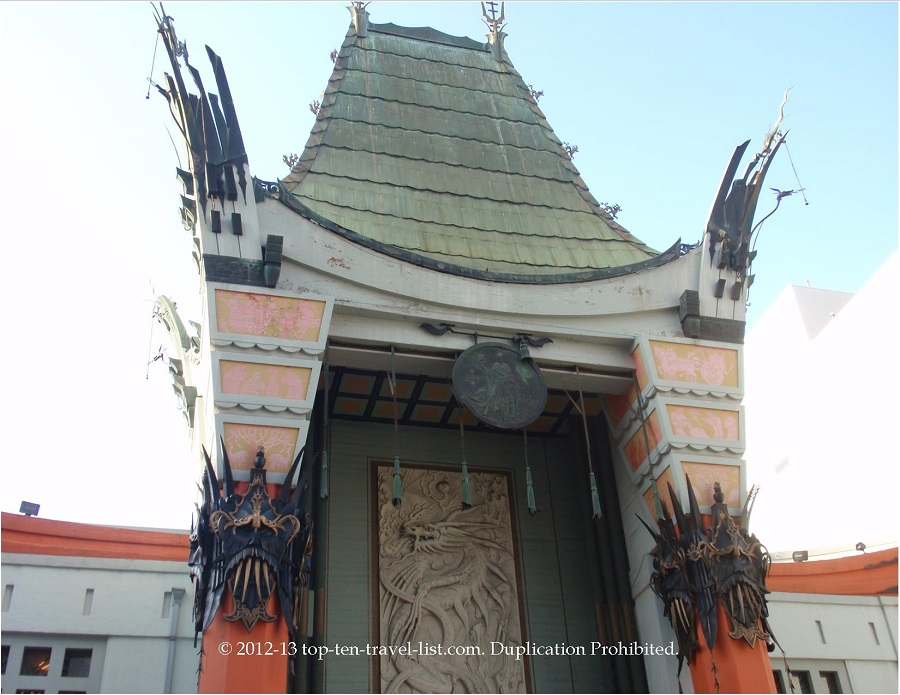 Grauman's Chinese Theater at the Walk of Fame in Holllywood, CA