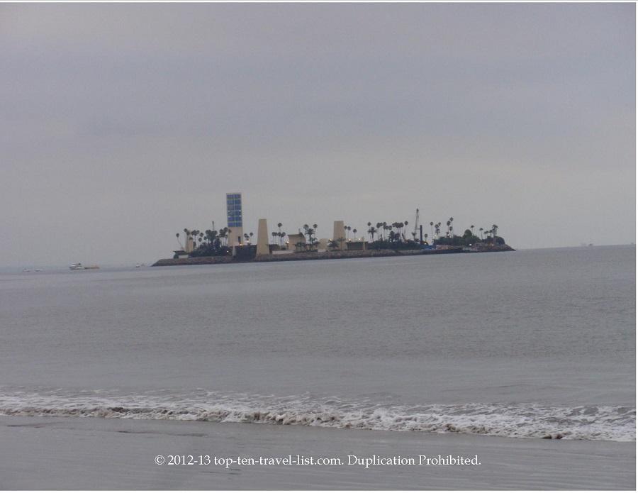 Views from Long Beach (artificial islands)