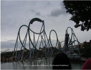 Incredible Hulk coaster - Islands of Adventure - Orlando, FL