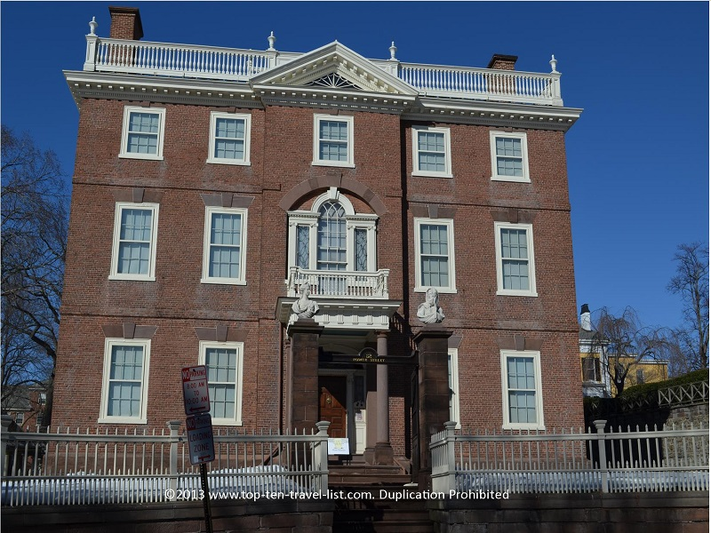 The John Brown House in Providence, RI