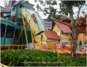 Dudley Do Right's Ripsaw Falls - Islands of Adventure - Orlando, FL