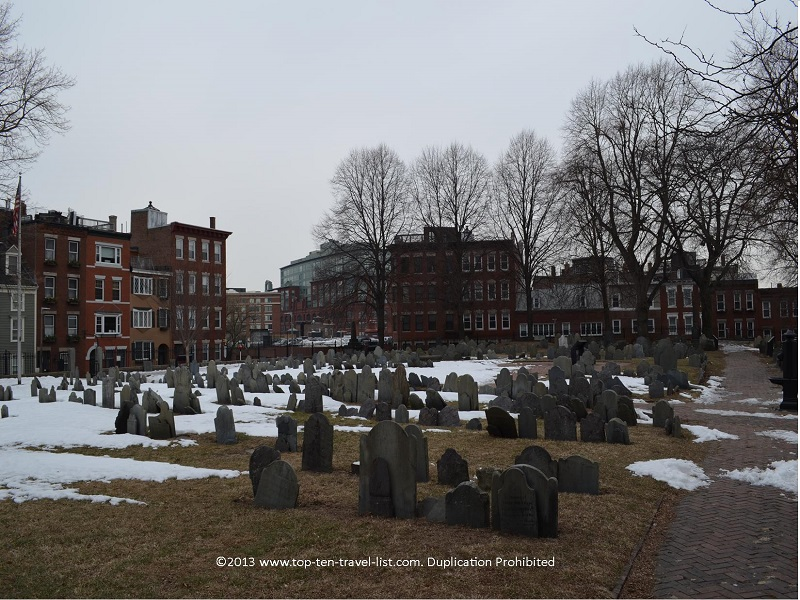 Copp's Hill Burying Ground - The Freedom Trail