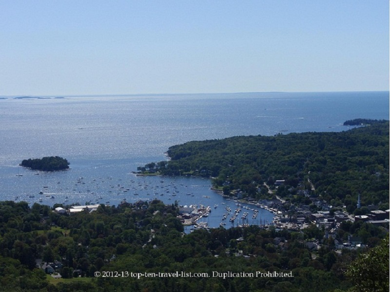 Stunning views at Camden Hills State Park - Camden, Maine