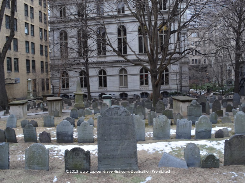 King's Chapel Burying Ground - The Freedom Trail
