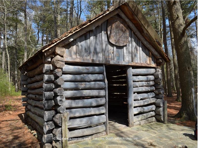 Log cabin - Boyden Wildlife Refuge in Taunton, MA