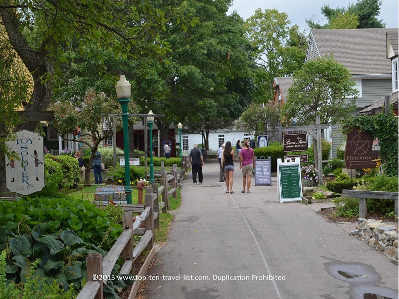 Olde Mystic Village in Mystic, CT