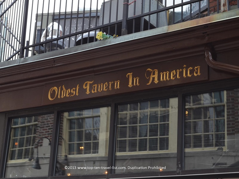 The Oldest Tavern in America - Boston - The Freedom Trail