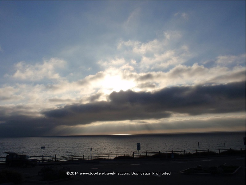 Sunset at Torrace Beach - California