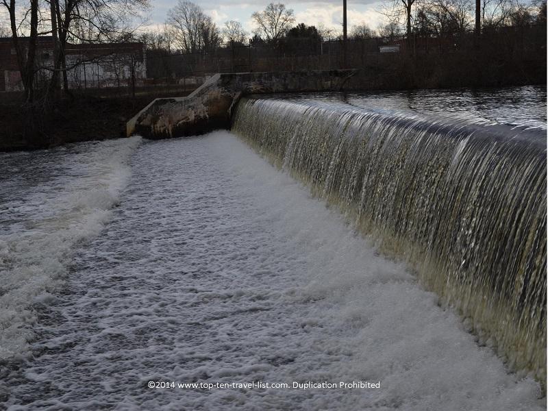 Waterfall at Gertrude M. Boyden Wildlife Refuge - Taunton, MA