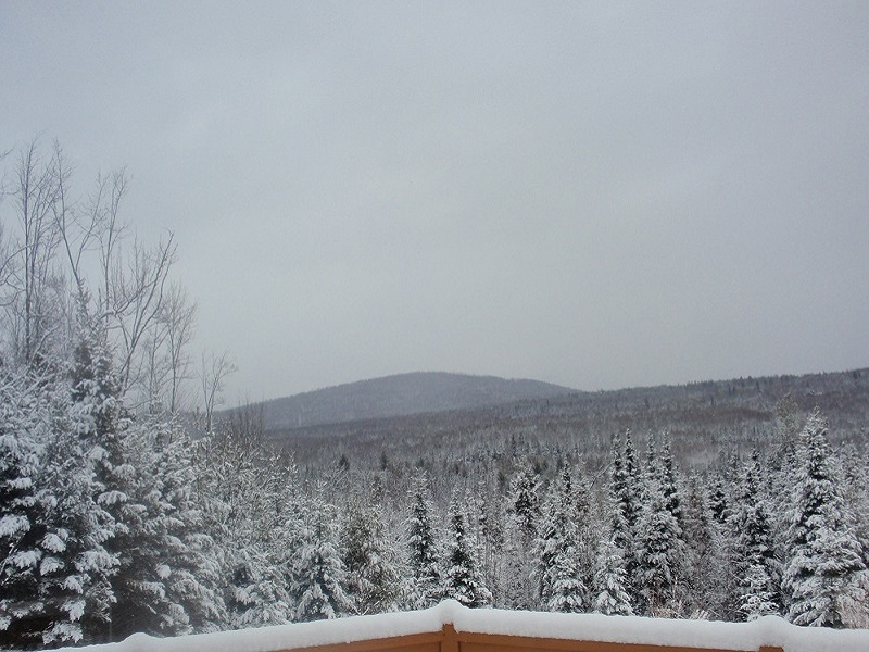 Views of the White Mountains from Bear Mountain Lodge in Bethlehem, New Hampshire