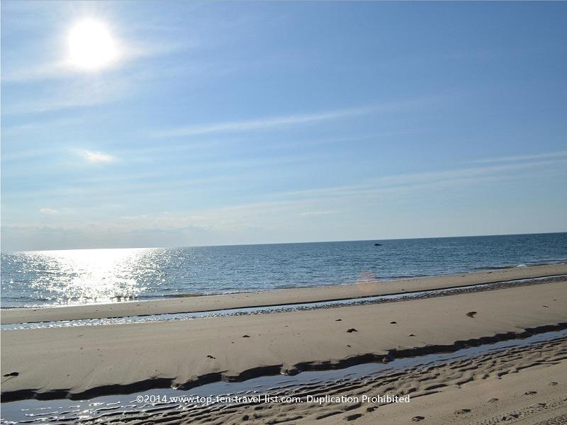 Stunning ocean views on Cape Cod's Great Island Trail