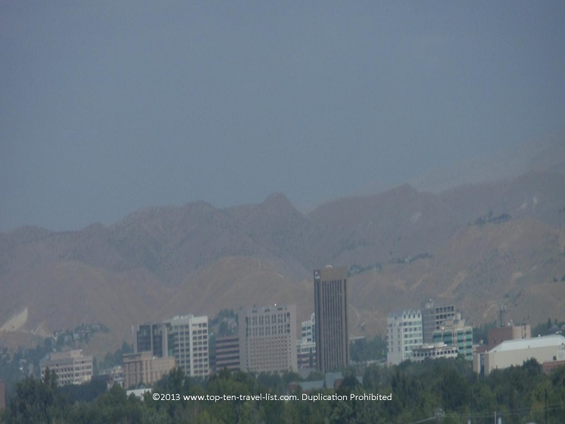 A view of downtown Boise Idaho