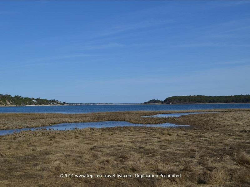 Salt marsh views on Cape Cod's Great Island Trail - Sandwich, MA