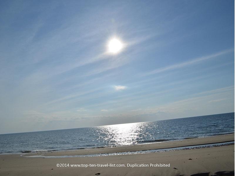 Beautiful ocean views in Cape Cod - Wellfleet's Great Island Trail