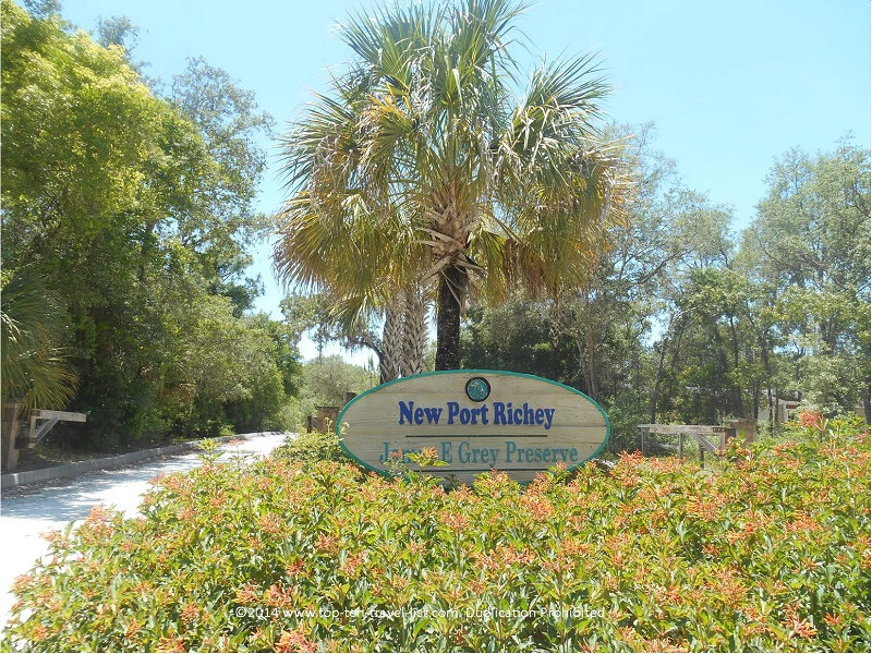 James E. Grey Preserve in New Port Richey, Florida