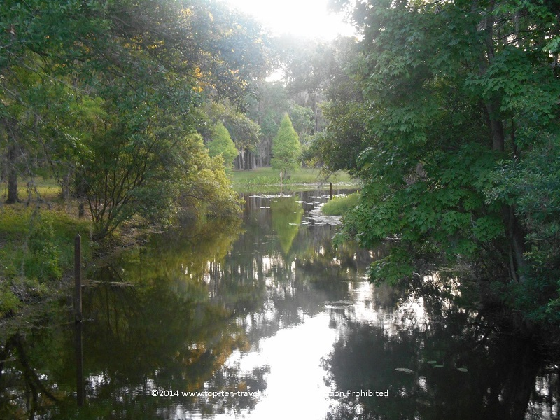 Beautiful John Chestnut Park in Palm Harbor, Florida