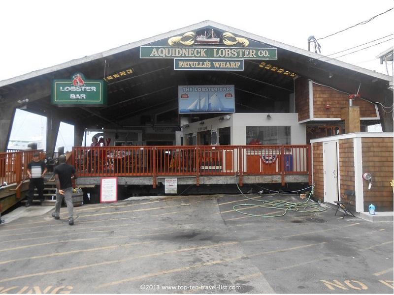 Aquidneck Lobster Bar - Newport, Rhode Island