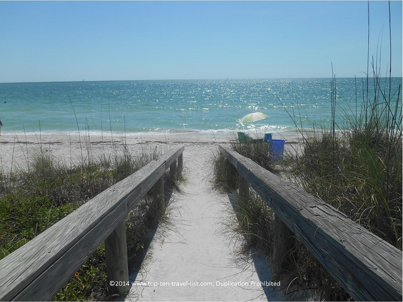 Boardwalk to Pass-A-Grille Beach- St. Petersburg, Florida