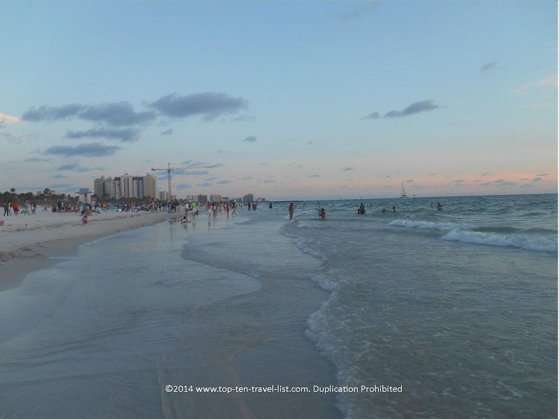 Views of Clearwater Beach in Florida