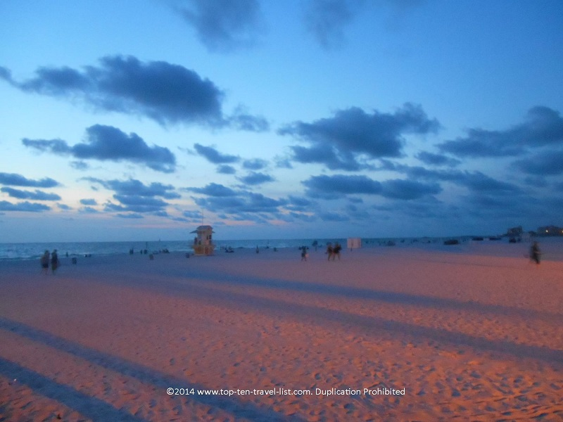 Cool looking clouds at Clearwater Beach, Florida