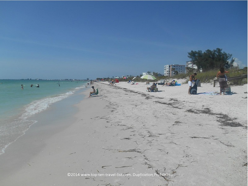 Summer day at Pass-A-Grille Beach - St. Petersburg, Florida
