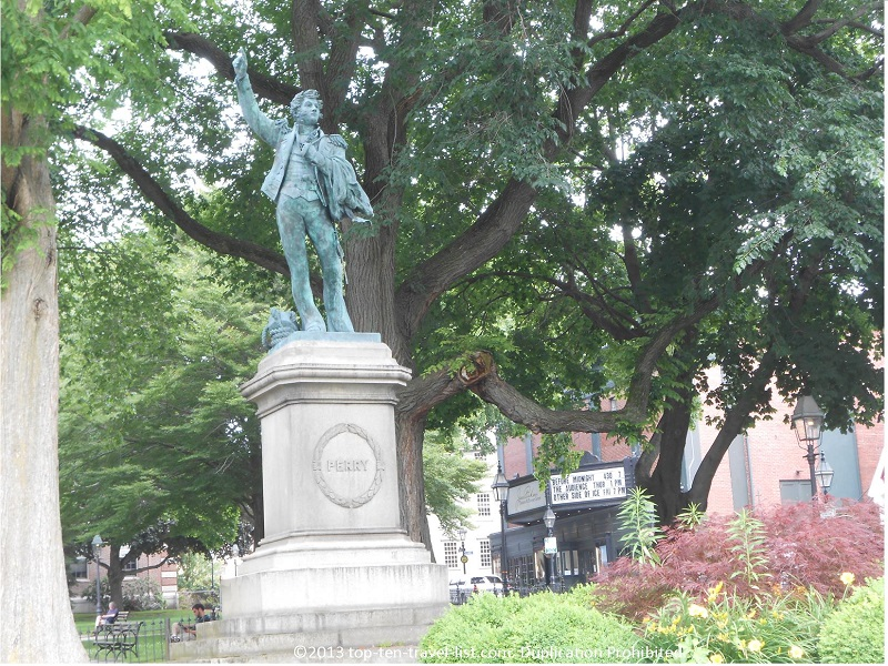 Oliver Perry Monument in Newport's Washington Square