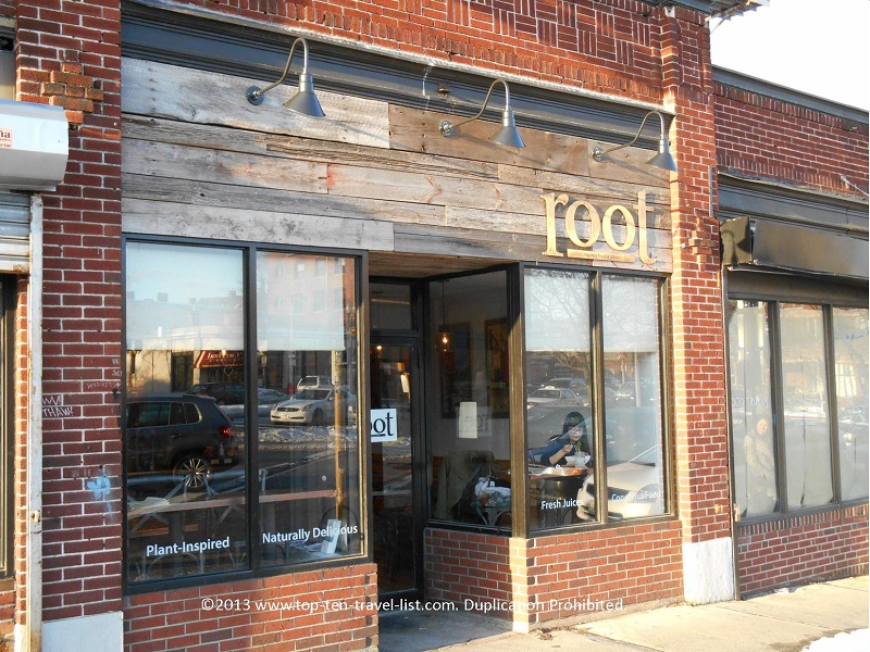 Root in Allston, Massachusetts