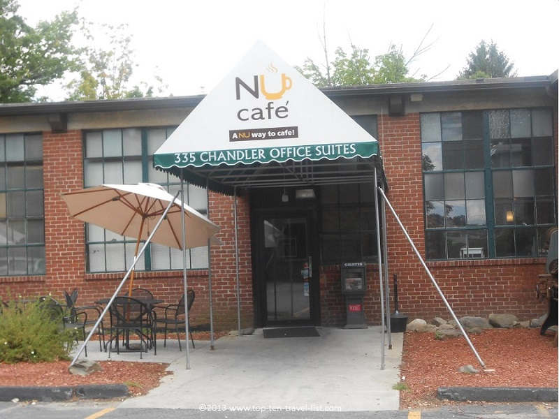 NU Cafe in Worcester, Massachusetts