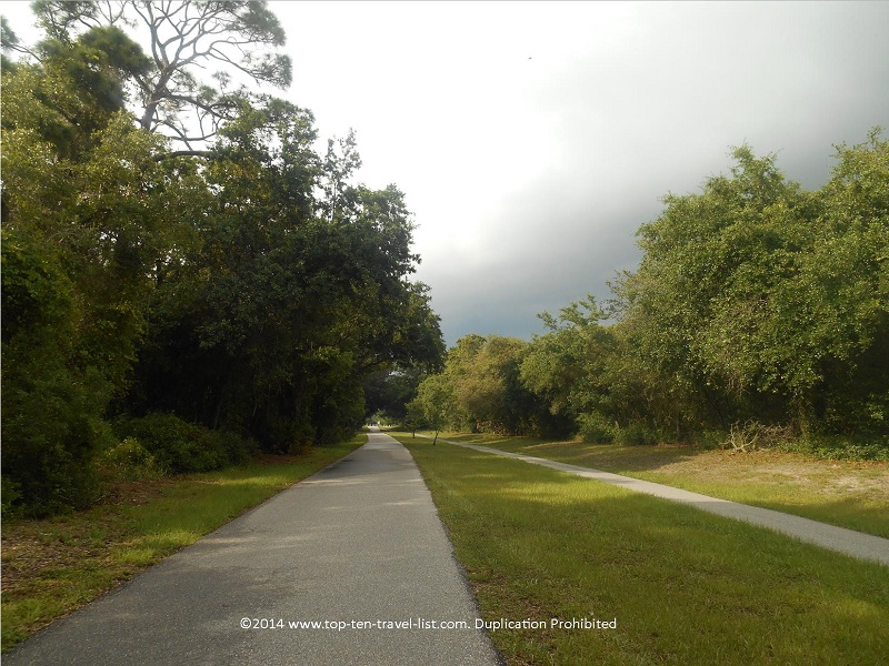 An overcast day on the Pinellas Trail - Florida