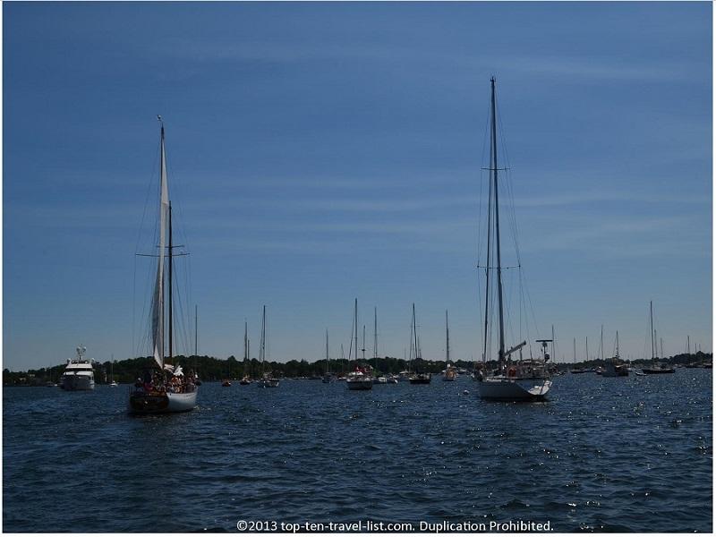 Newport Rhode Island harbor
