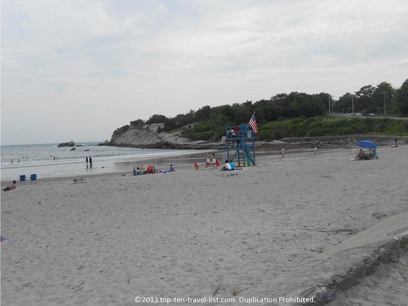 Second Beach in Middletown, Rhode Island