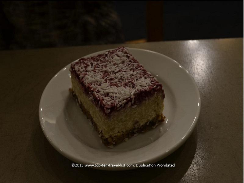 Raw cheesecake at Wildflour Vegan Bakery - Pawtucket, RI