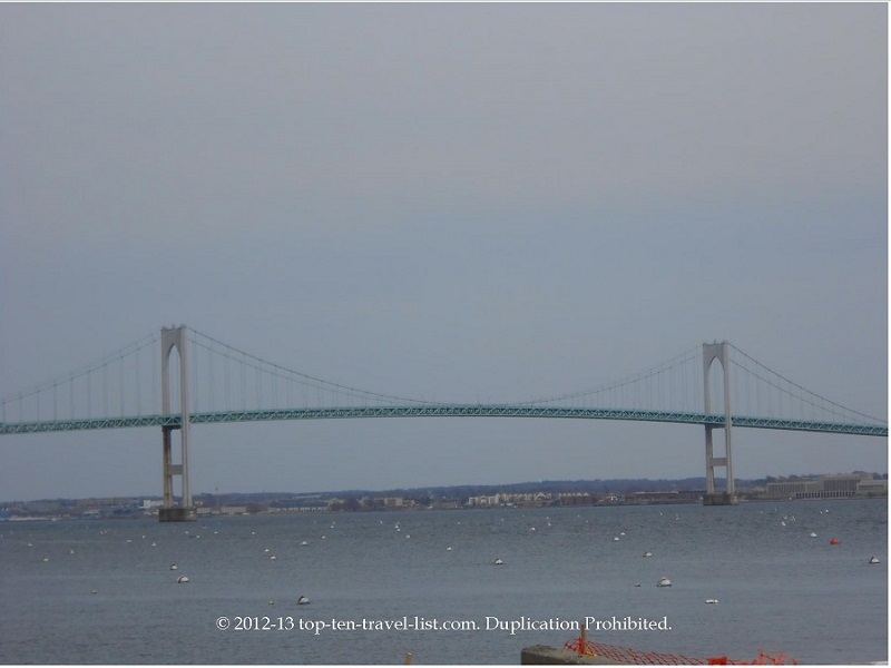 Jamestown Island bridge