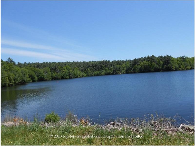 Lake Rico at Massasoit State Park - East Taunton, Massachusetts