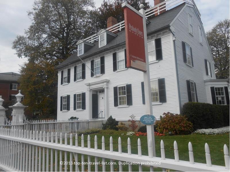 Ropes Mansion (Hocus Pocus movie house) in Salem, Massachusetts