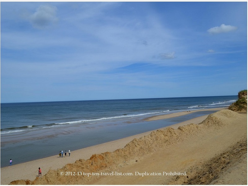 Scenic views at Cape Cod's Marconi Beach - Wellfleet, Massachusetts
