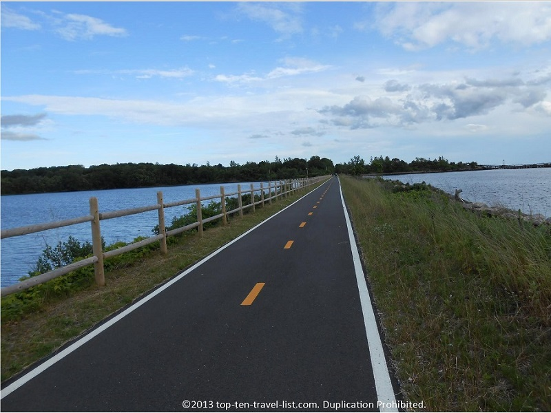 Rhode Island's East Bay Bike Path